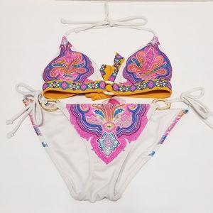 Xs paisley Victoria secret bikini set